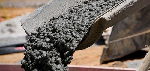 мешание бетона