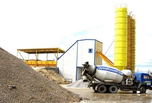 мини завод для производства бетона цена