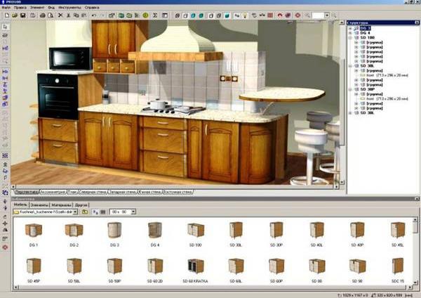 программа для 3d моделирования мебели на русском скачать бесплатно - фото 8
