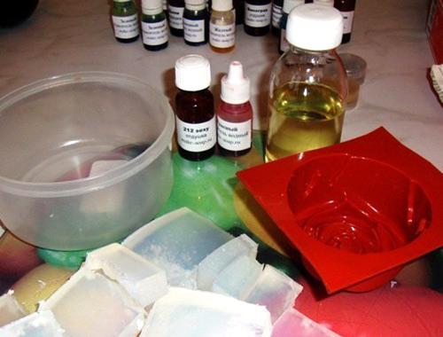 Производство по мыловарению