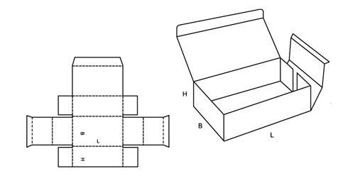 Коробочка прямоугольная своими руками из картона с крышкой